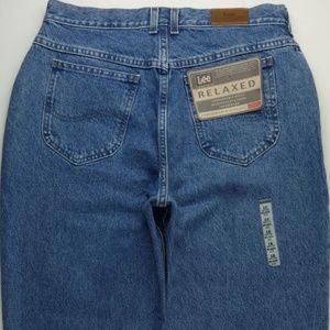 VTG Lee Relaxed Mom Jeans Ankle Petites 16P A322J